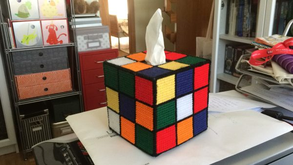 TBBT Rubik's Cube Tissue Box Cover